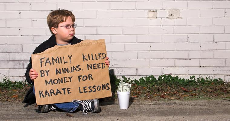 Kid Begging