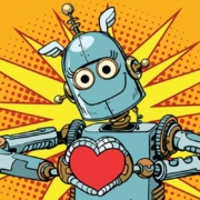Robot Heart Love